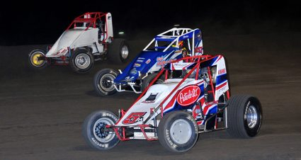 Leary & McDougal Close Gas City Season In Victory Lane