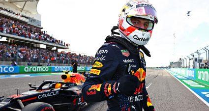 Verstappen Scores Pole For U.S. Grand Prix